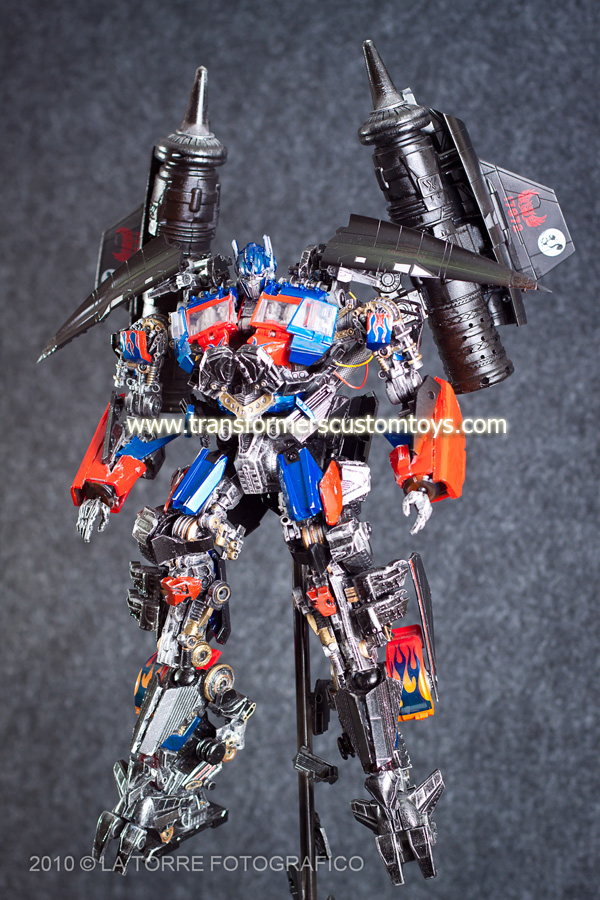 Power Up Prime Custom ROTF - Optimus Prime