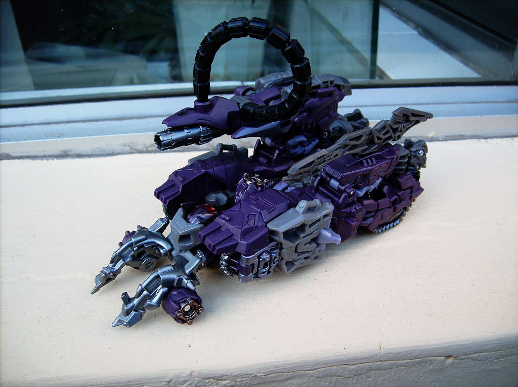 Transformers Dotm Shockwave Shockwave Tf3 Dotm Toyline