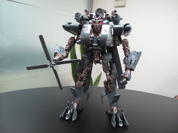 Transformers Blackout Custom