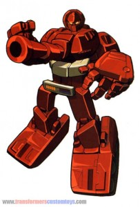 Transformers-Warpath-Autobot