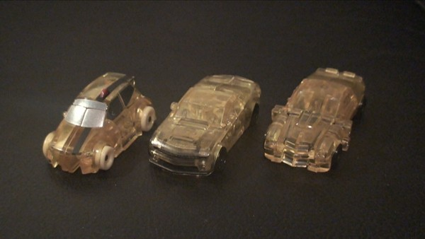 Clear Cyberverse Bumblebee - car
