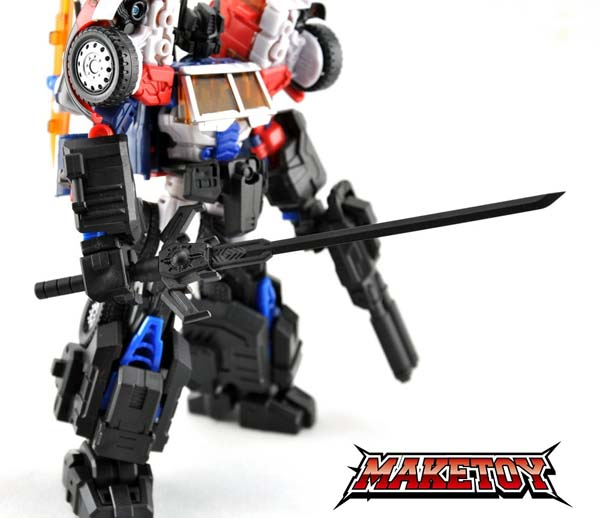 Laser Optimus Prime Maketoy Custom
