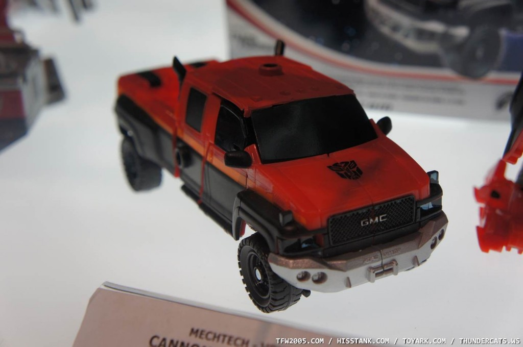Movie Red Ironhide Truck
