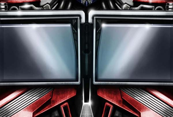 SDCC exclusive Transformers Prime Matrix Optimus Prime - chest