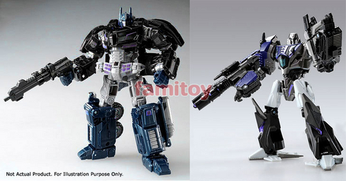 Tokyo Toy Show Dark Side Optimus Prime VS Dark Side Megatron