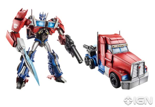 Transformers Prime Voyager Class Optimus Prime
