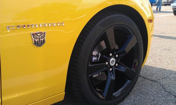 2012 Transformers Special Edition Camaro Coupe - 3