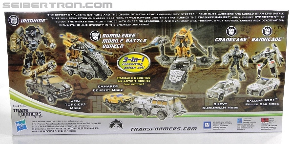 DOTM Cyberverse- Cybertronian Warriors Pack