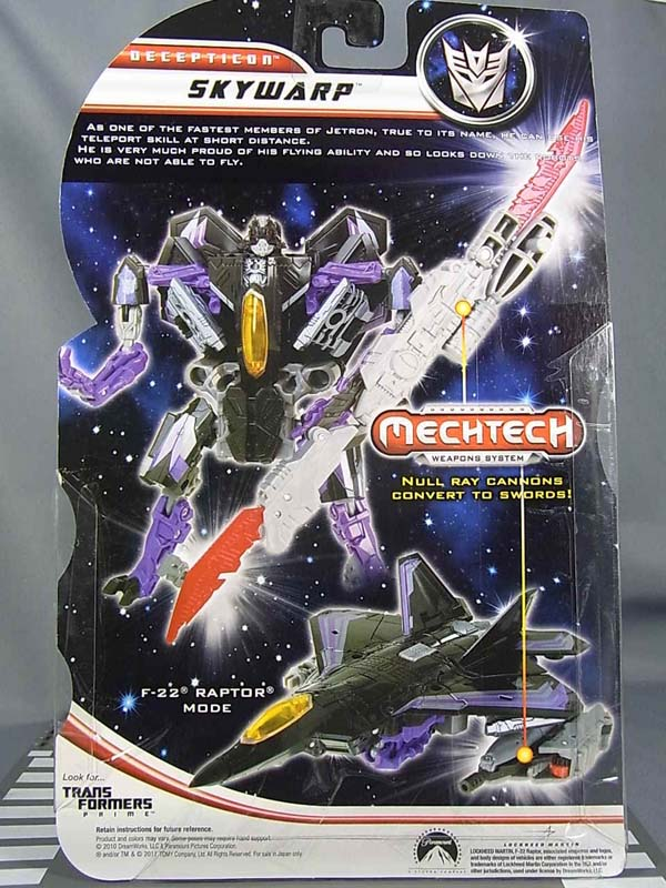 DOTM Skywarp - info