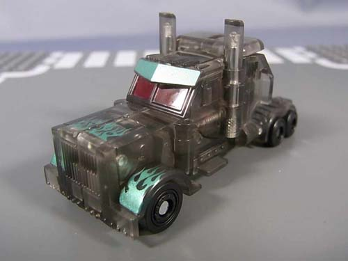 Darkside Optimus Clear truck mode