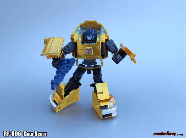 RF-006 Renderform  Gold Scout