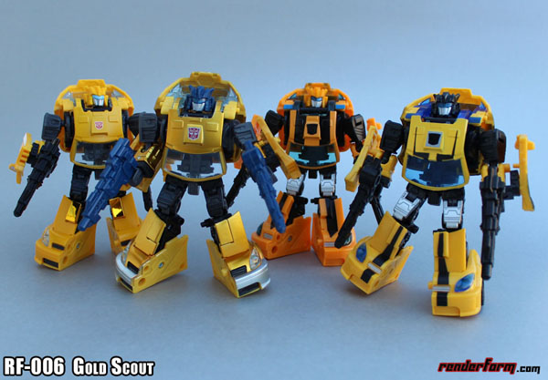 Renderform RF-006 Gold Scout