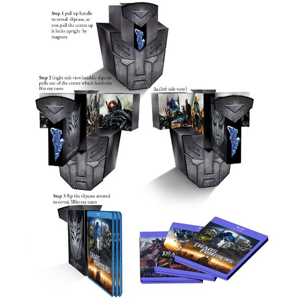 Transformers Trilogy Boxset