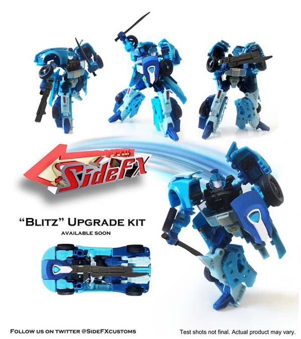 Blurr Upgrade Set