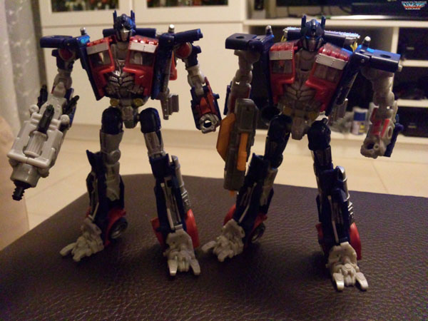 Takara Tomy CH-01 Chronicle Optimus Prime G1 DOTM Set