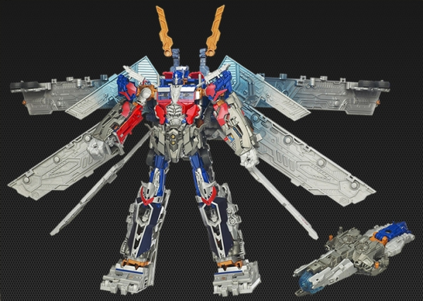TakaraTomy Ultimate Optimus Prime Mechtech Weapons