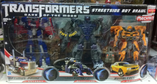 Transformers 3 Streetside Bot Brawl Toys R Us Exclusive