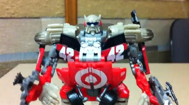 Transformers DOTM Target Exclusive Leadfoot