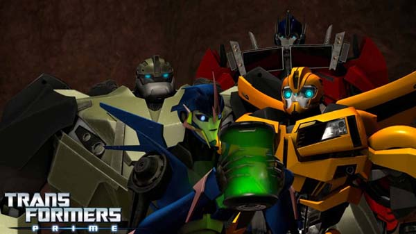 Transformers Prime - Stronger,Faster