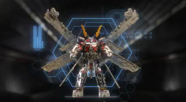 Transformers Ultimate Optimus Prime Mechtech Commercial