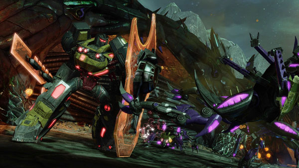 Grimlock Transformers Fall of Cybertron
