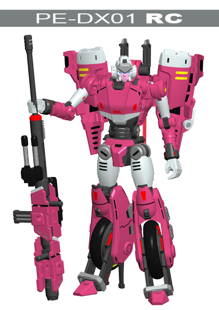 PerfectEffect Arcee CGI Render PE-DX01