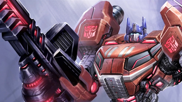 Tranformers Fall of Cybertron Optimus Prime