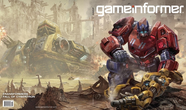 Transformers Fall of Cybertron - Gameinformer