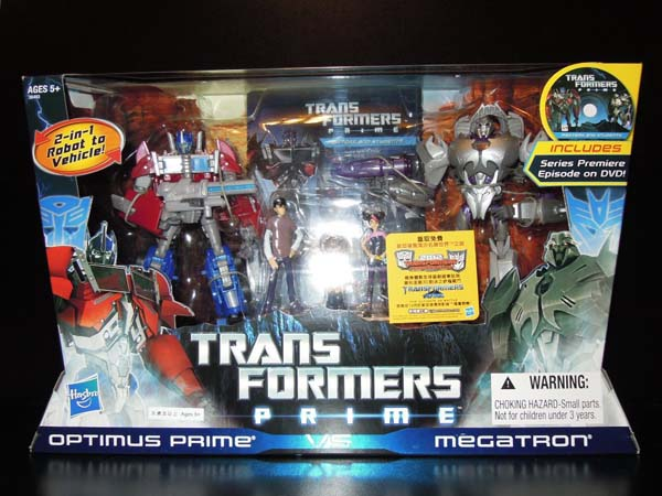 Transformers Prime Entertainment Pack - Boxed