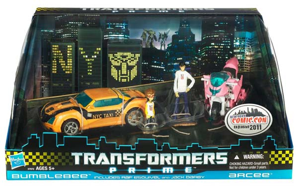Transformers Prime Exclusive Set - Bumblebee and Arcee
