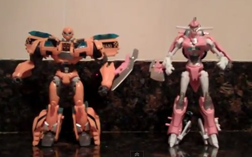 Transformers Prime NYCC Exclusive Set - Bumblebee & Arcee