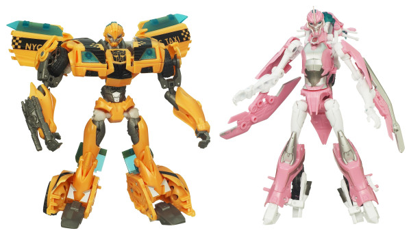 Transformers Prime NYCC Exclusive Set - Bumblebee and Arcee