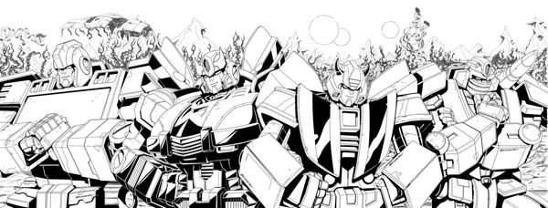 transformers rid issue by marcelo matere ink