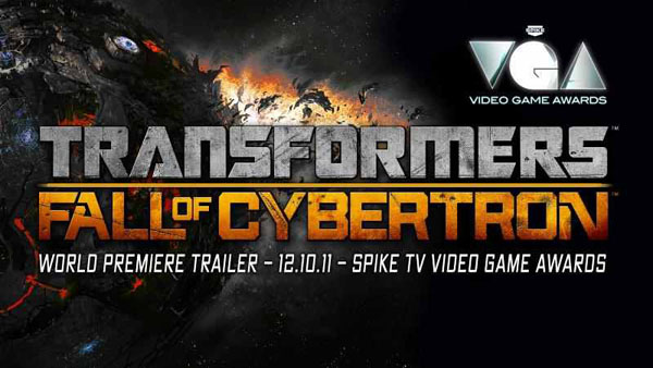 Transformers Fall from Cybertron Trailer to Debut on Spike TV Video Game Awards