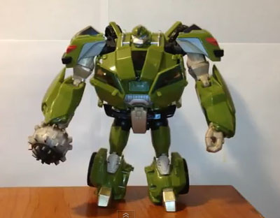 Transformers Prime Voyager Bulkhead review