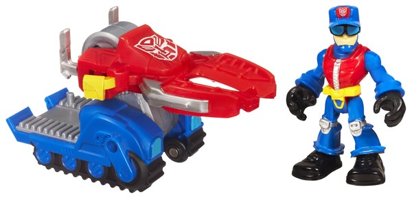 Transformers Rescue Bots - Chief Charlie Burns & Rescue Cutter