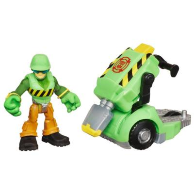 Transformers Rescue Bots - WALKER CLEVELAND and Jackhammer