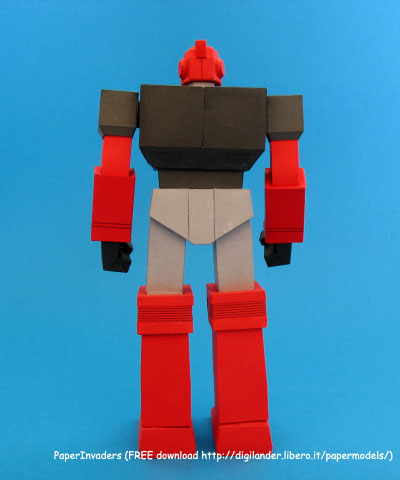 Custom Paper Craft Ironhide 1