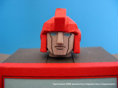 Custom Paper Craft Ironhide 2