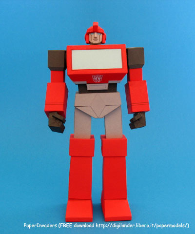 Custom Paper Craft Ironhide 3