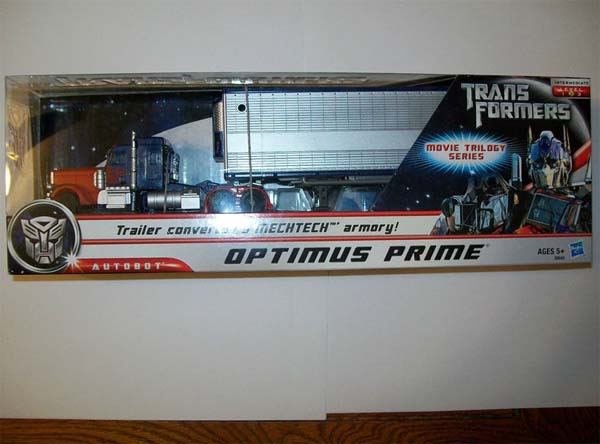 Optimus Prime Movie Trilogy Series