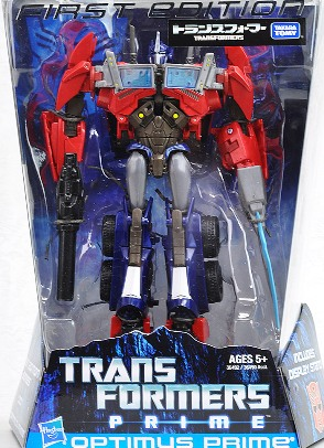 Optimus Prime - Transformers Prime Takara First Edition Toys