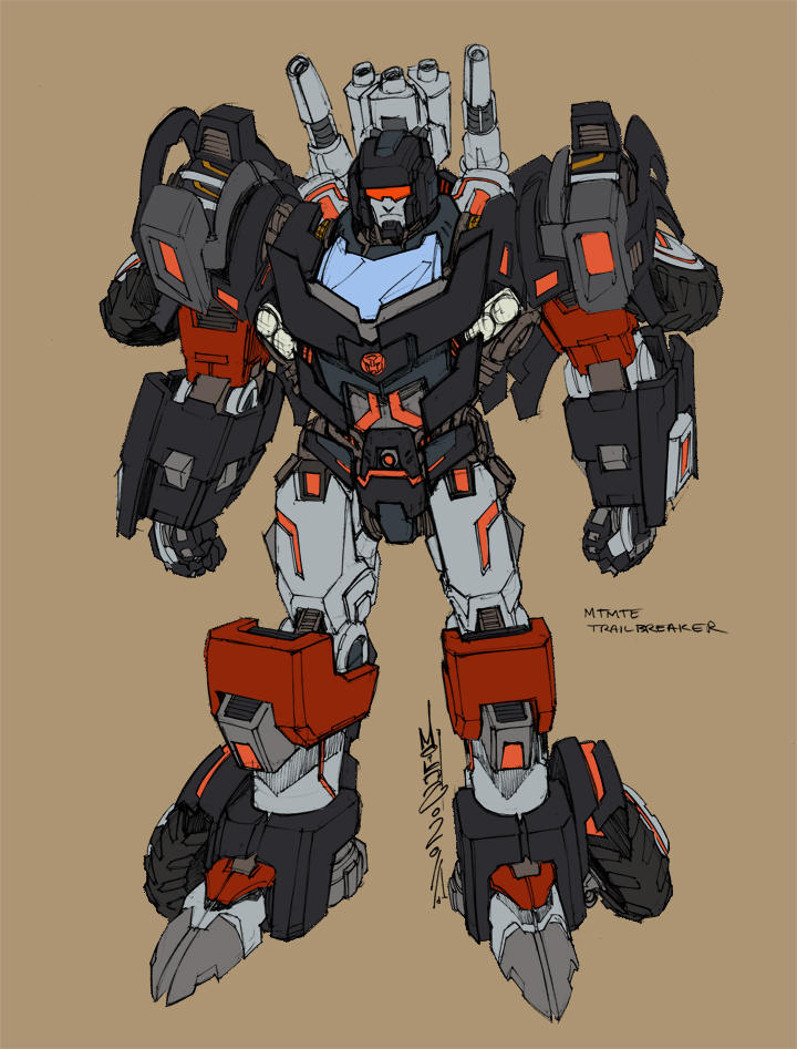 Transformers MTMTE Trailbreaker