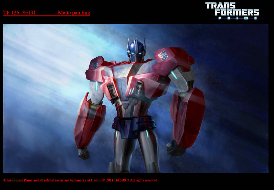 Transformers Prime Concept Art - Christopher Vacher