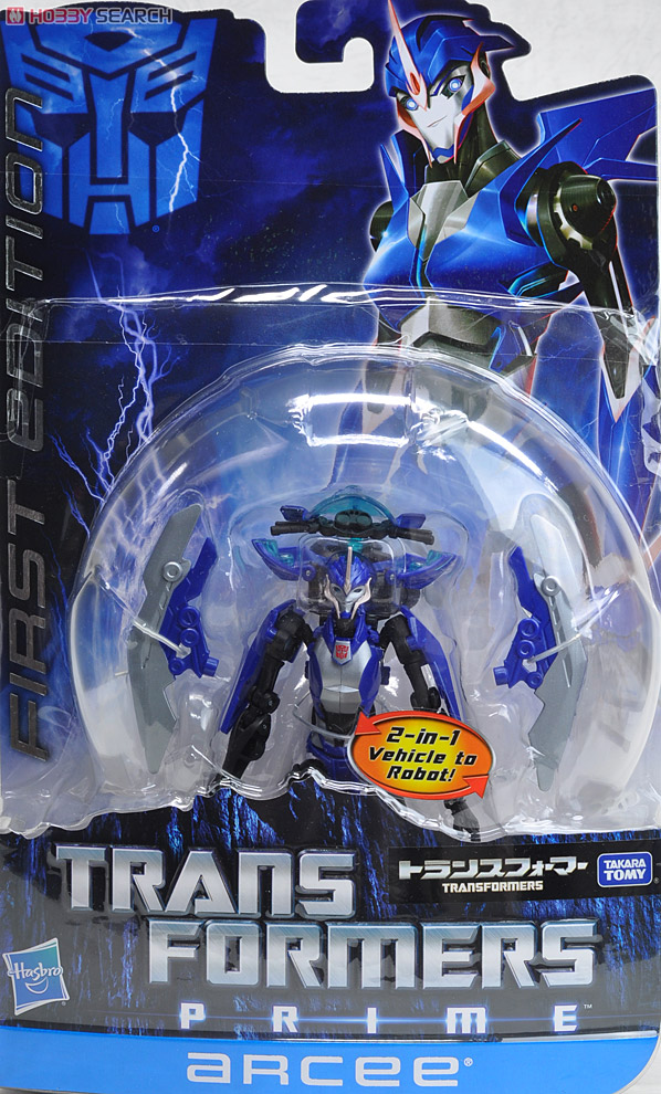 Transformers Prime Takara First Edition Toys- Arcee