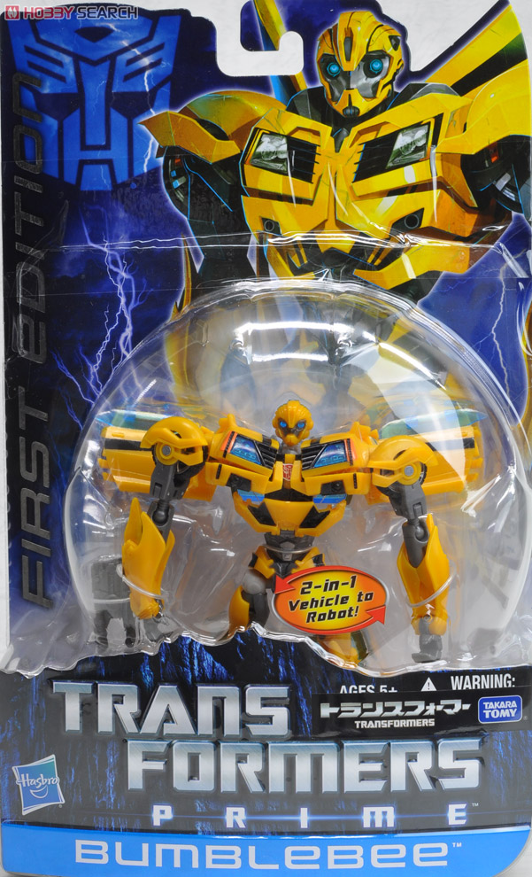 Transformers Prime Takara First Edition Toys - Bumblebee
