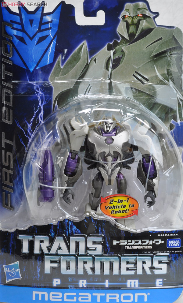 Transformers Prime Takara First Edition Toys - Megatron