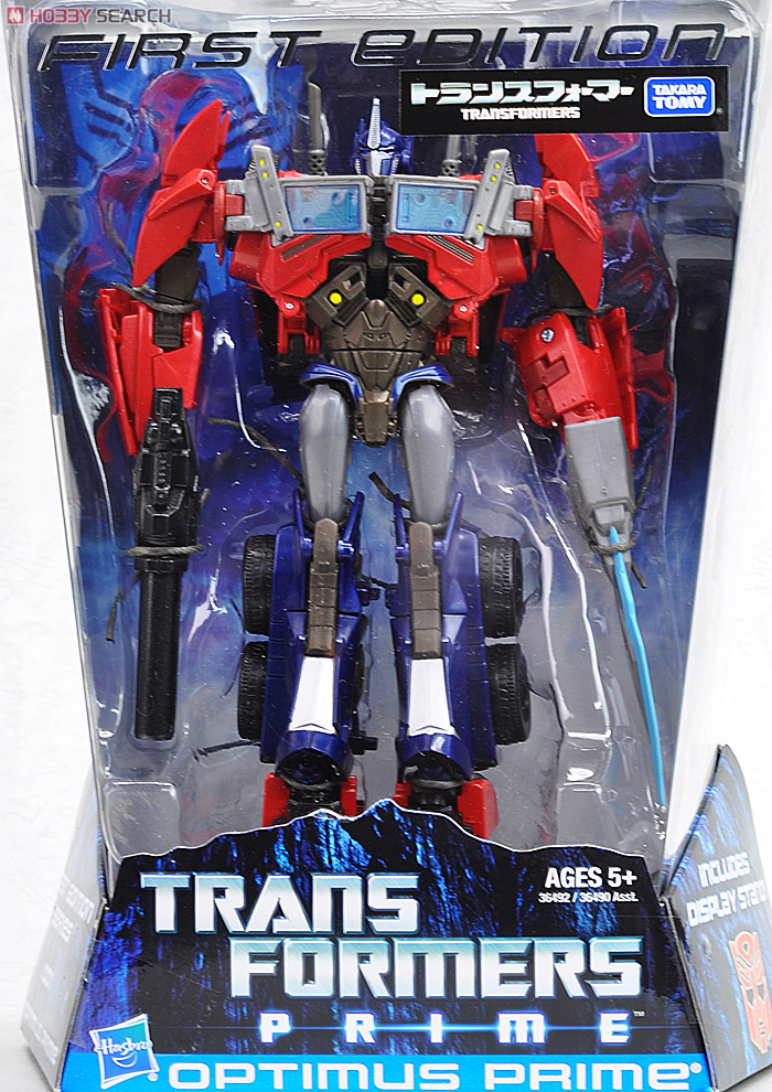 Transformers Prime Takara First Edition Toys - Optimus Prime