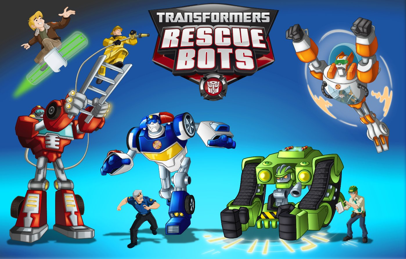 Transformers-Rescue-Bots Poster