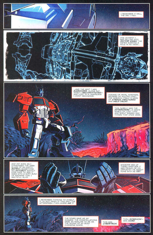 Transformers The Death of Optimus Prime Comic Preview